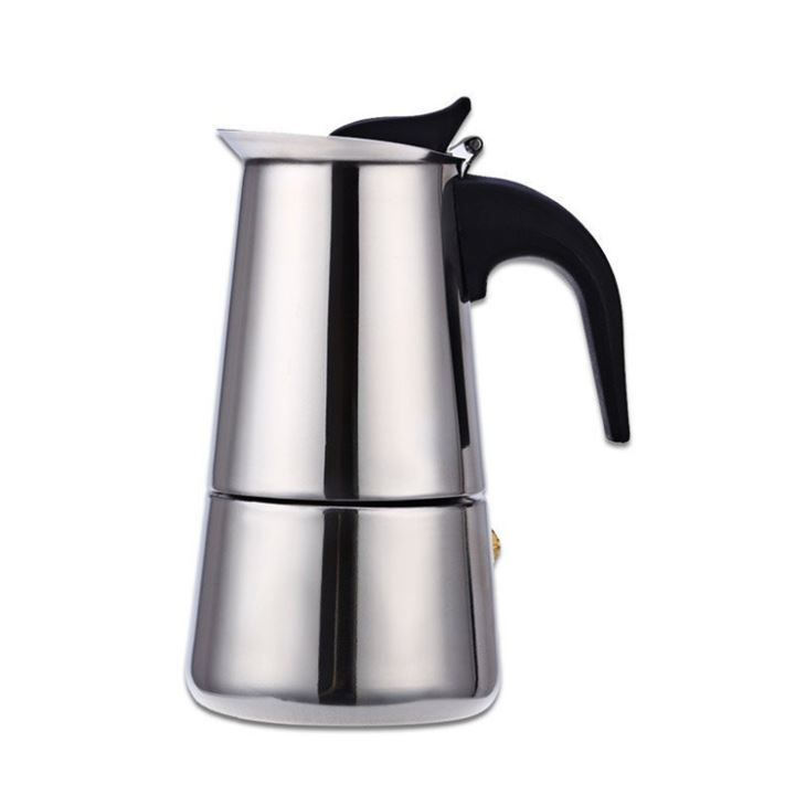 9 Cup Stainless Steel Aeropress Coffee Maker Machine Portable Colored Espresso Moka Pot