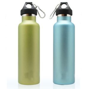 High Quality Double Wall Stainless Steel Thermo Water Bottle 750ml